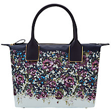 Buy Ted Baker Jenay Entangled Enchantment Small Tote Bag, Navy Online at johnlewis.com