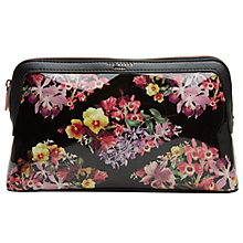 Buy Ted Baker Cydine Large Wash Bag, Black Online at johnlewis.com