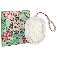 Buy Diptyque Rosa Mundi Scented Oval Online at johnlewis.com