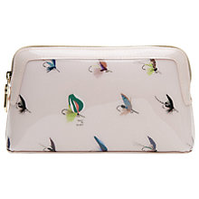 Buy Ted Baker Colour By Numbers Delfia Fly Fishing Wash Bag, Pale Pink Online at johnlewis.com