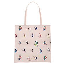 Buy Ted Baker Colour By Number Talicon Icon Shopper Bag, Pale Pink Online at johnlewis.com