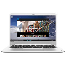 "Buy Lenovo Ideapad 710S Laptop, Intel Core i5, 8GB RAM, 256GB PCIe SSD, 13.3"" Full HD, Silver Online at johnlewis.com"
