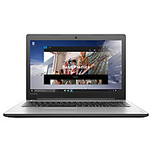 "Buy Lenovo Ideapad 310 Laptop, Intel Core i3, 8GB RAM, 1TB, 15.6"", Silver and Microsoft Office Home and Student 2016, 1 PC, Lifetime Subscription Online at johnlewis.com"