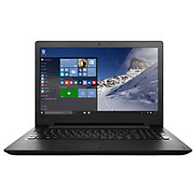 "Buy Lenovo Ideapad 110 Laptop, Intel Pentium, 4GB RAM, 1TB, 15.6"", Black Online at johnlewis.com"
