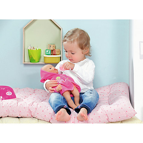 Buy Zapf My Little Baby Born Potty Training Doll John Lewis