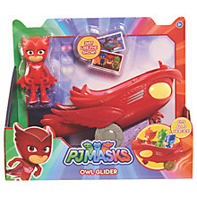 Buy PJ Masks Owlette Figure and Owl Glider Online at johnlewis.com