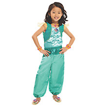 Buy Shimmer and Shine Children's Genie Shine Satin Dress Up Set Online at johnlewis.com