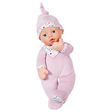 Buy Zapf Baby Born First Love Doll Online at johnlewis.com