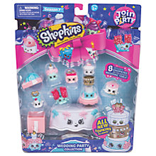 Buy Shopkins Season 7 Wedding Party Collection Pack Online at johnlewis.com
