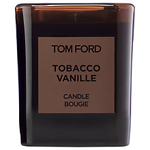 Buy TOM FORD Private Blend Tobacco Vanille Candle Online at johnlewis.com