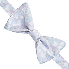 Buy Thomas Pink Lely Spot Self Tie Silk Bow Tie, Lilac/Blue Online at johnlewis.com