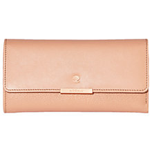 Buy Modalu Margot Leather Dropdown Purse, Dusky Pink Online at johnlewis.com