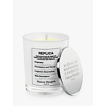 Buy Maison Margiela Replica Beach Walk Candle, 185g Online at johnlewis.com