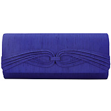 Buy Jacques Vert Overlay Twist Trim Bag, Bright Blue Online at johnlewis.com