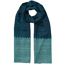 Buy East Ombre Border Scarf, Ensign Online at johnlewis.com