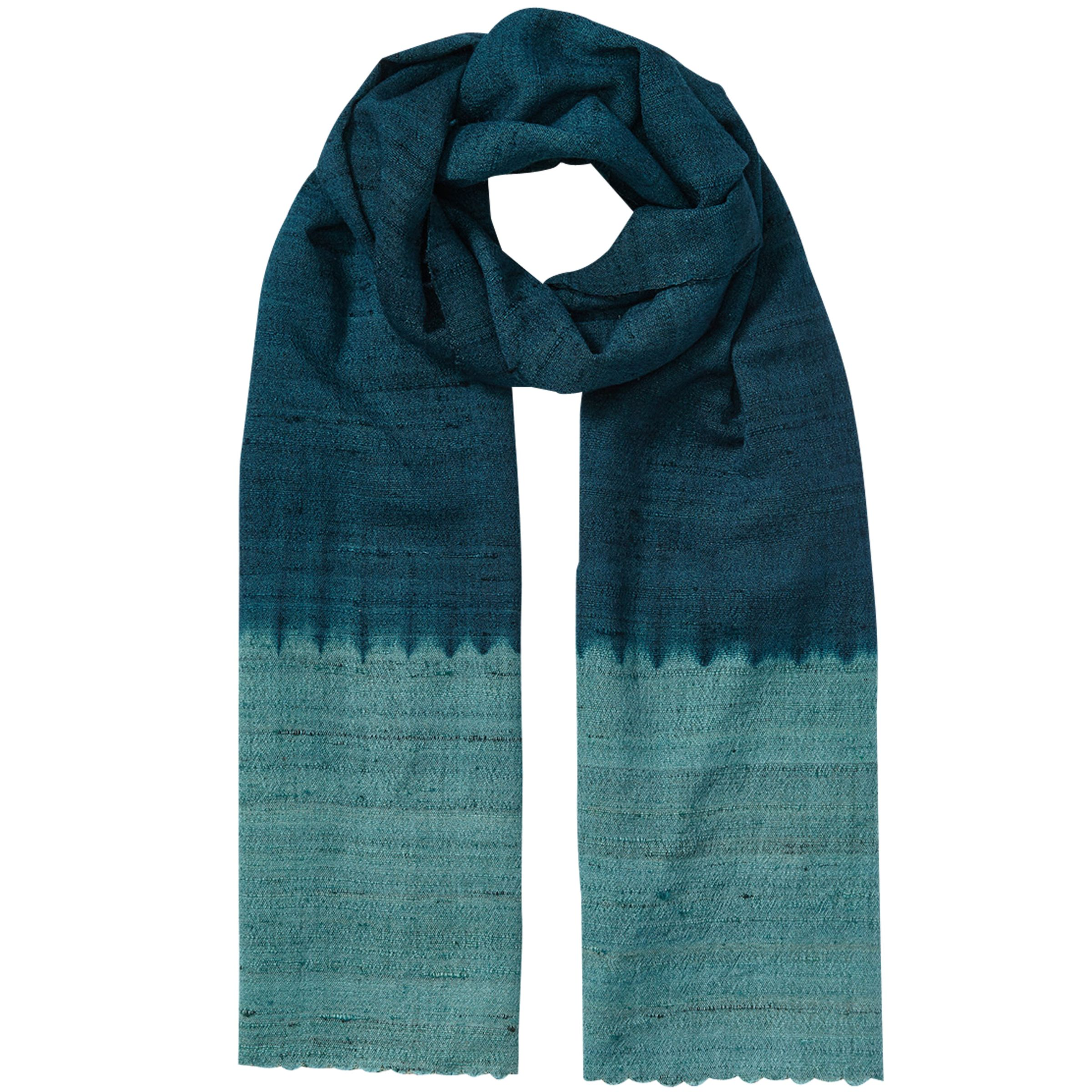 East East Ombre Border Scarf, Ensign