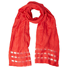Buy White Stuff Window Pane Scarf Online at johnlewis.com