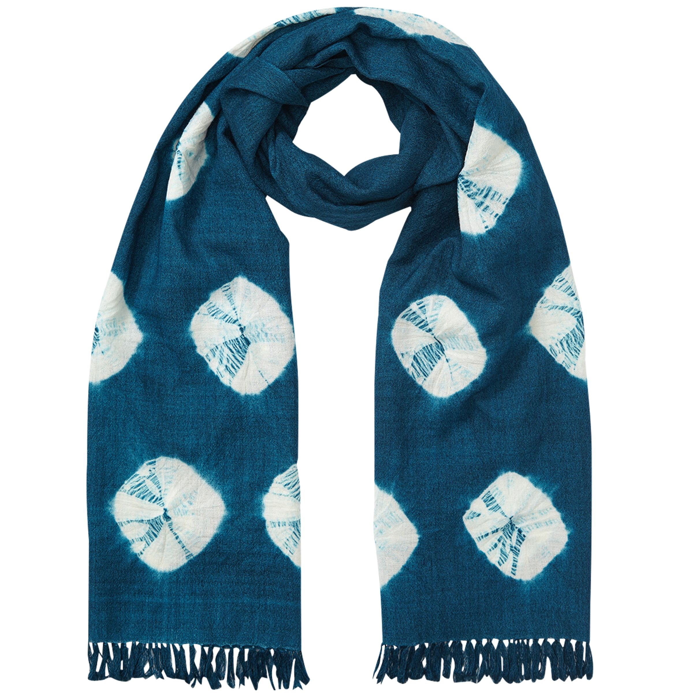 East East Bandhini Wool Scarf, Ensign