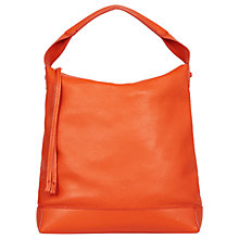 Buy Gerard Darel Leather Le Jackie Hobo Bag, Orange Online at johnlewis.com