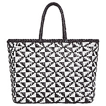 Buy Gerard Darel Le Panier Graph Bag, Black Online at johnlewis.com