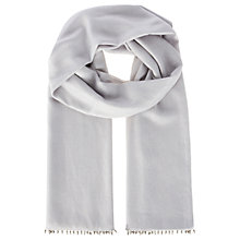 Buy Coast Dina Metallic Scarf, Silver Online at johnlewis.com