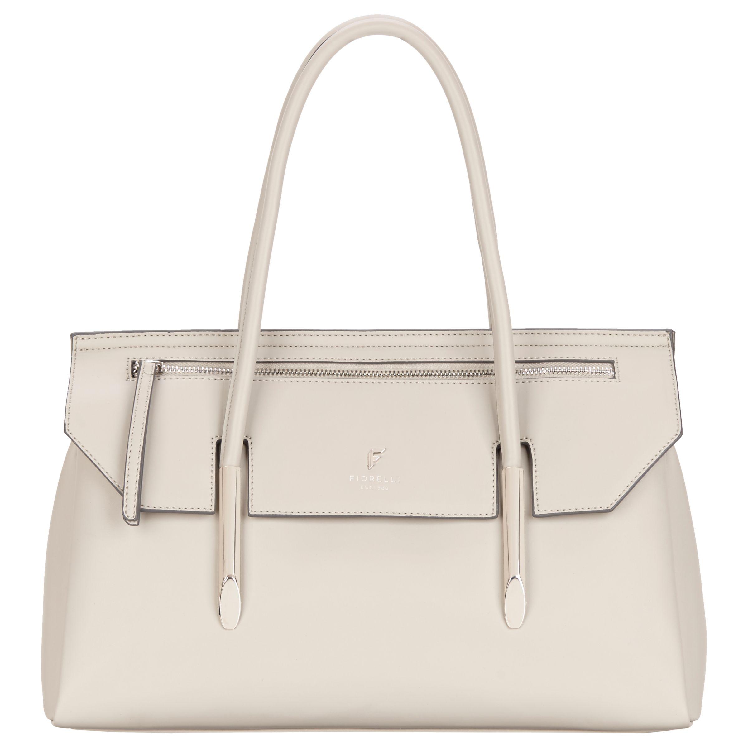 Fiorelli Fiorelli Carlton Flap-Over East West Tote Bag, Misty Grey