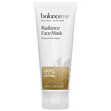 Buy Balance Me Radiance Face Mask, 75ml Online at johnlewis.com