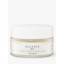 Buy Balance Me Intensive Wrinkle Repair Cream, 50ml Online at johnlewis.com