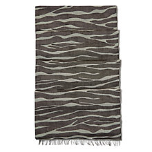 Buy Hobbs Ava Scarf, Black/Multi Online at johnlewis.com