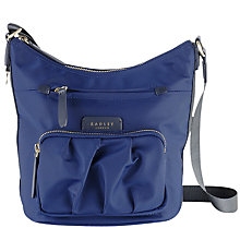 Buy Radley Primrose Street Across Body Bag, Navy Online at johnlewis.com