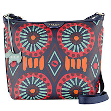 Buy Radley Summer Tribes Across Body Bag, Navy Online at johnlewis.com