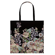 Buy Ted Baker Garcon Gem Gardens Shopper Bag, Black/Multi Online at johnlewis.com