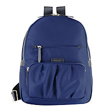 Buy Radley Primrose Street Backpack, Navy Online at johnlewis.com