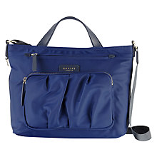 Buy Radley Primrose Street Grab Bag, Navy Online at johnlewis.com