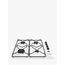 Buy Indesit Aria PAA642IWH Built-In Gas Hob, White Online at johnlewis.com