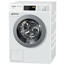 Buy Miele WDD030 Freestanding EcoPlus Comfort Washing Machine, 8kg Load, A+++ Energy Rating, 1400rpm Spin, White Online at johnlewis.com