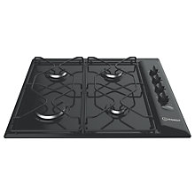 Buy Indesit Aria PAA642IBK Built-In Gas Hob, Black Online at johnlewis.com