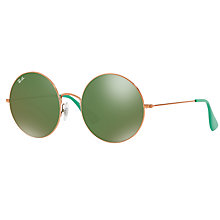 Buy Ray-Ban RB3592 Ja-Jo Round Sunglasses Online at johnlewis.com