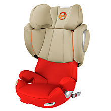 Buy Cybex Solution Q3 Fix Group 2/3 Car Seat, Autumn Gold Online at johnlewis.com