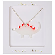Buy Meri Meri Children's Dinosaur Necklace Online at johnlewis.com