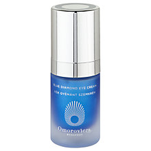 Buy Omorovicza Blue Diamond Eye Cream, 15ml Online at johnlewis.com