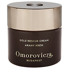 Buy Omorovicza Gold Rescue Cream, 50ml Online at johnlewis.com