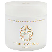 Buy Omorovicza Gold Sugar Scrub, 200ml Online at johnlewis.com