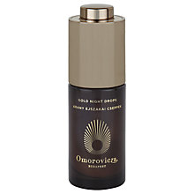 Buy Omorovicza Gold Night Drops, 30ml Online at johnlewis.com