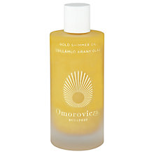 Buy Omorovicza Gold Shimmer Oil, 100ml Online at johnlewis.com