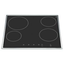 Buy Hotpoint CBRB640X Induction Hob, Black Glass Online at johnlewis.com