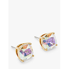 Buy kate spade new york Mini Square Stud Earrings, Aurora Borealis Online at johnlewis.com
