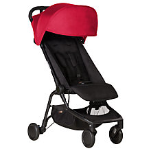Buy Mountain Buggy Nano Stroller, Ruby Red Online at johnlewis.com