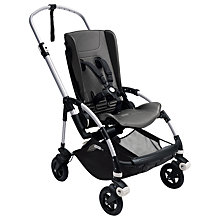 Buy Bugaboo Bee 5 Pushchair Chassis and Seat, Aluminium Online at johnlewis.com