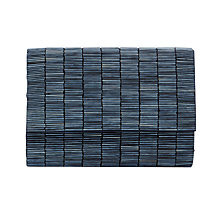 Buy Coast Whitley Bugle Clutch Bag, Navy Online at johnlewis.com